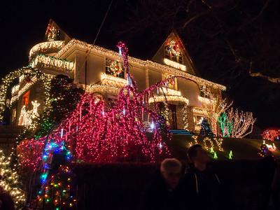 Dyker Heights Christmas Lights 2013