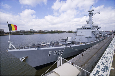 Belgian Navy; DG ass