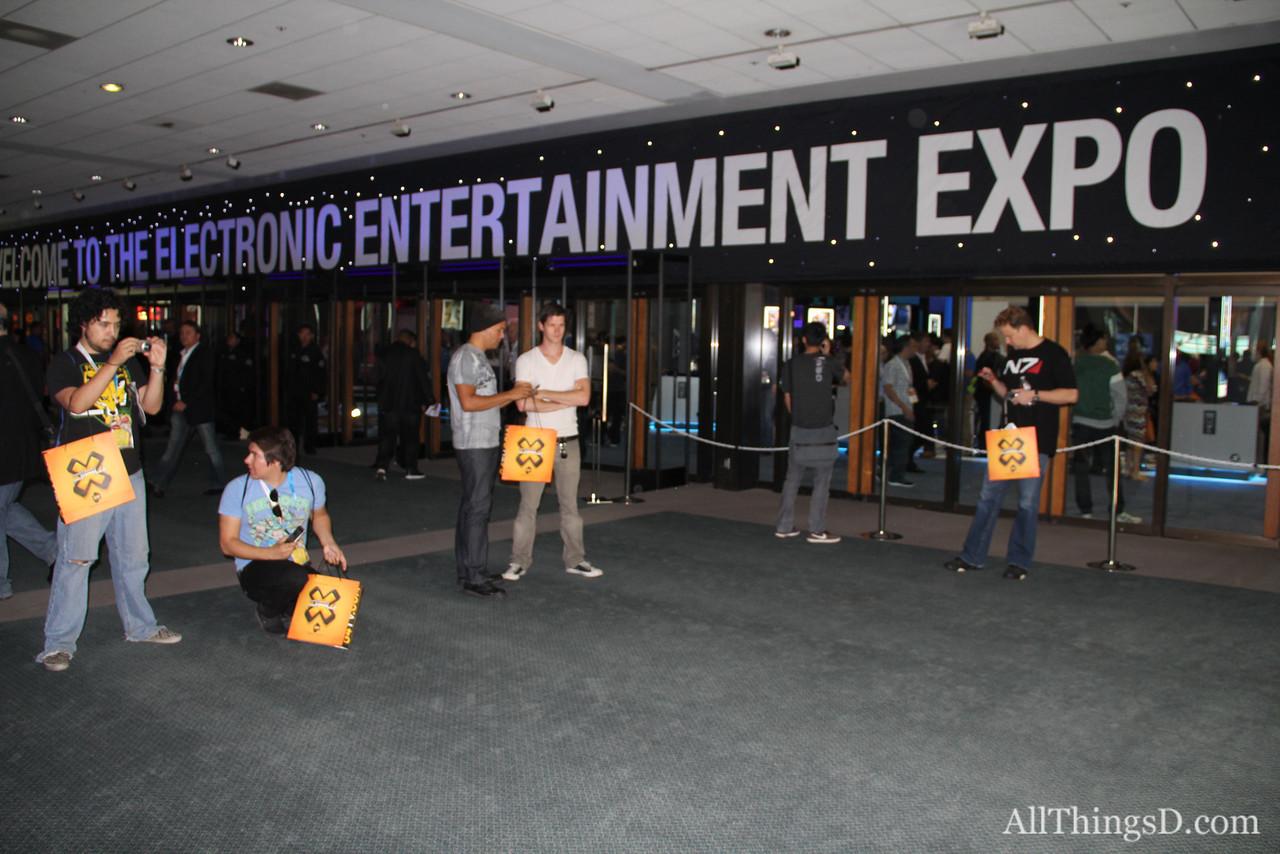 Entrance to E3.