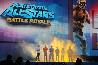 PlayStation All-Stars battle it out in Battle Royale.