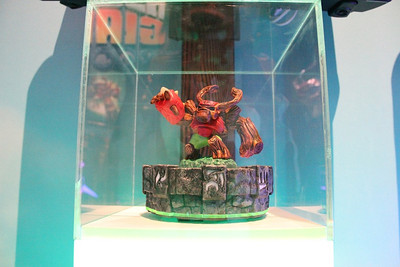 Action figures for Activision's hit Skylanders game.