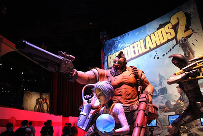Borderlands 2 showcased at E3.