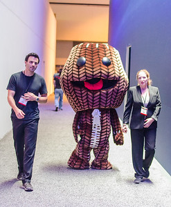 Little big Sackboy at E3 2012