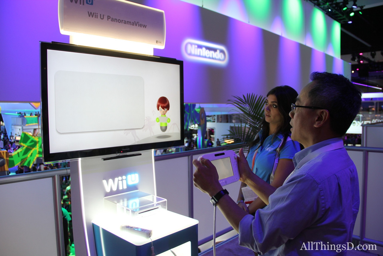 A look at how the Wii U shows players different angles of a game on the GamePad.
