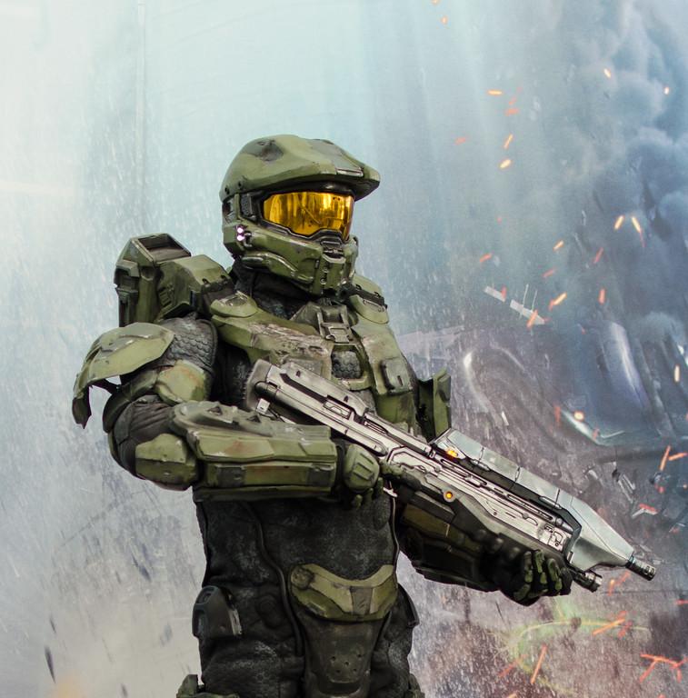 Master Chief at E3 2012