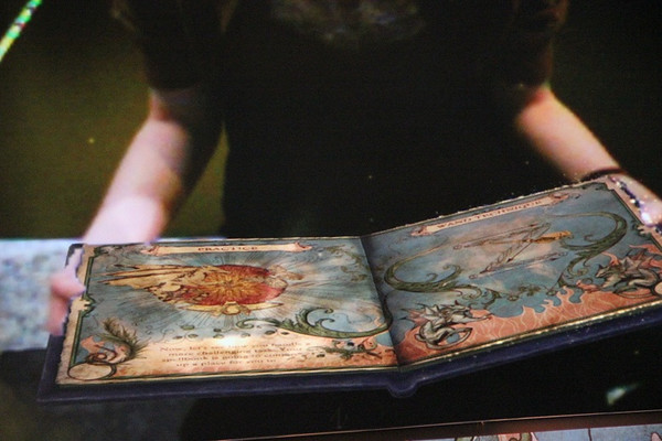 A virtual, interactive, Harry Potter-themed book of spells? Yes, please.