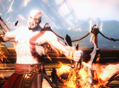 God of War on Sony PS3.