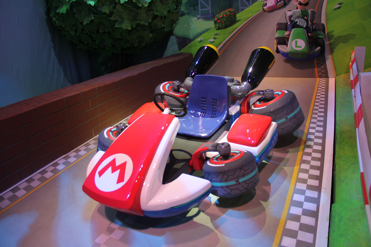A real-life Mario Kart.