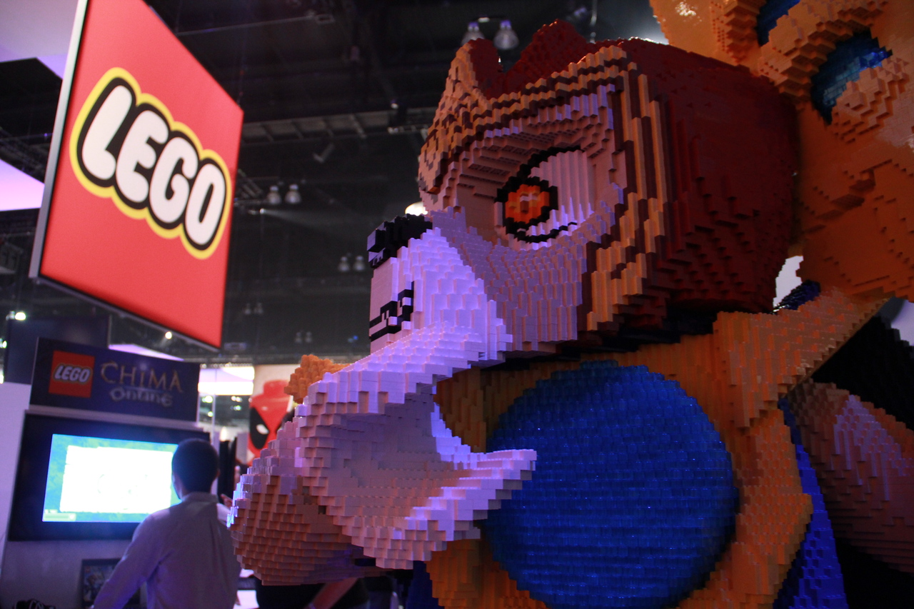That's a lot of Legos.