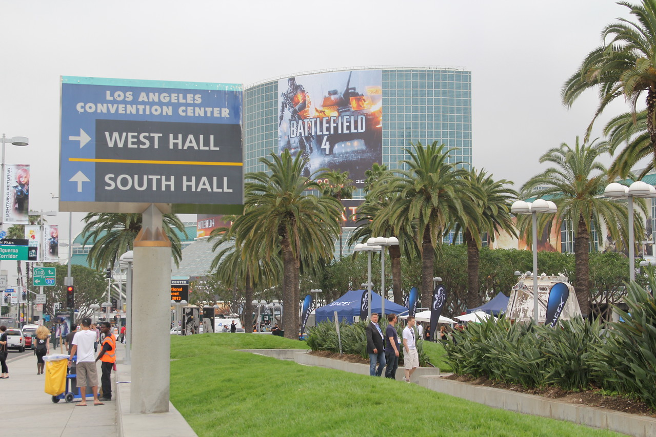 E3 descends on downtown Los Angeles.
