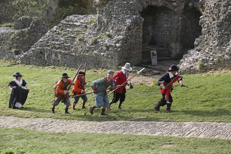 Corfe Castle-Lord Hopton's-08