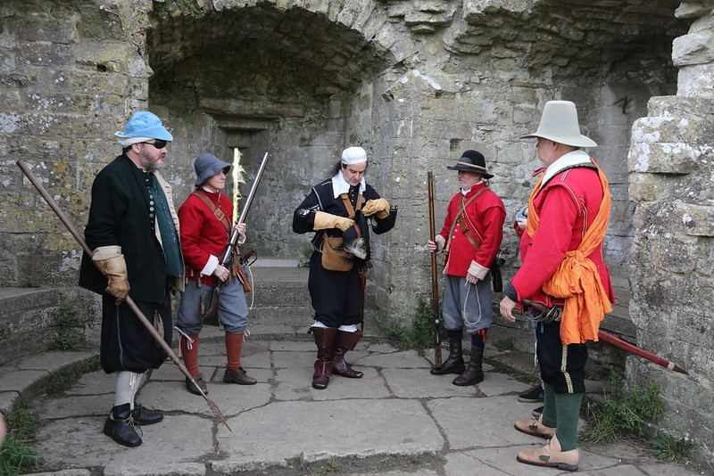 Corfe Castle-Lord Hopton's-117