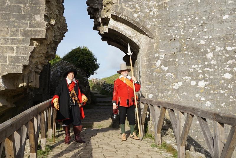 Corfe Castle-Lord Hopton's-150