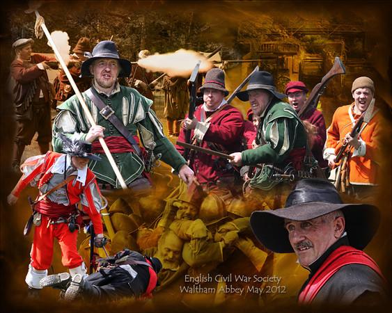 ECWS - Re-enactment at Waltham Abbey Gunpowder Mills May 2012 Website