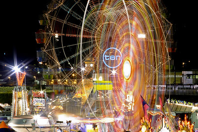 Ekka Sideshow Alley, 20 August 2005
