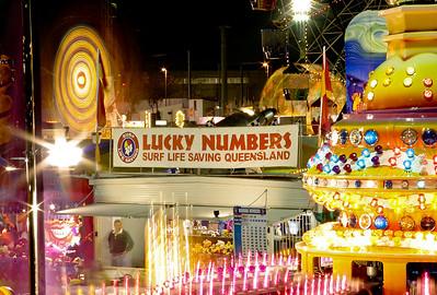 Ekka Sideshow Alley, 20 August 2005