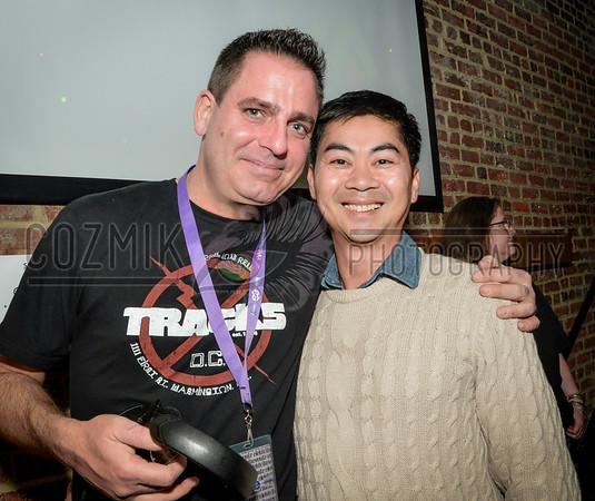 Longtime fan & Tracks head meets his favorite DJ!