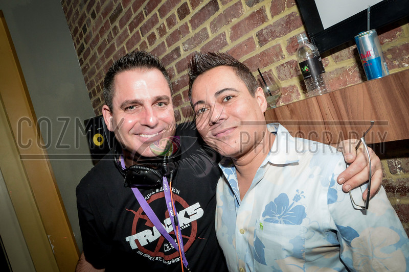 DJ Earic & his Stylist, Francis from VSL Dupont Circle