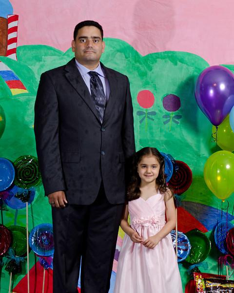 ESC Father/Daughter Dance 2012 Portraits