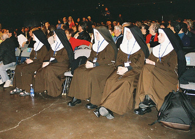 Poor Clare sisters from Our Lady of the Angels Monastery in Hanceville AL