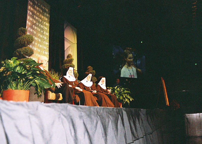 The Nuns answer a young audience member's question: What do you do all day?