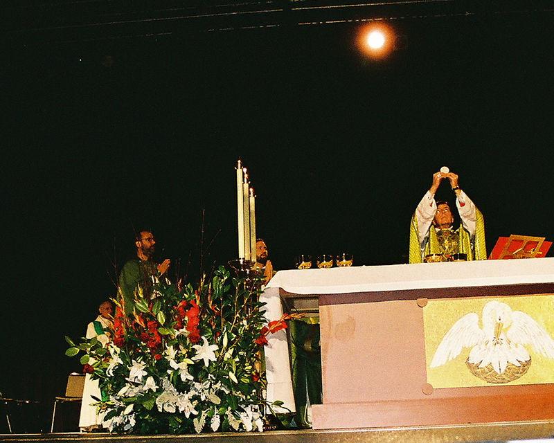 Bishop Vigneron at Consecration 2