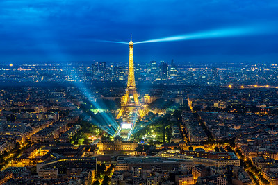 Torre Eiffel durante el Eurocopa 2016
