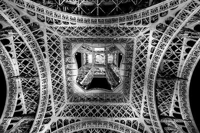 La base de la Torre Eiffel