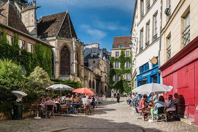Las cafeterías de Paris, plaza escondida