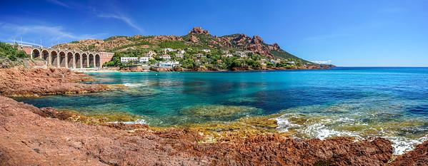 Panoramica de la Costa Azul