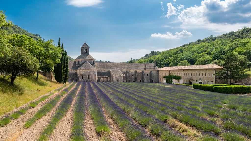 La abadía de Sénanque