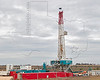 Trinidad Rig Drilling Eagle Ford Shale Well<br /> near Nordheim, TX