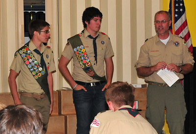 Eagle Scout Zach Cordisco