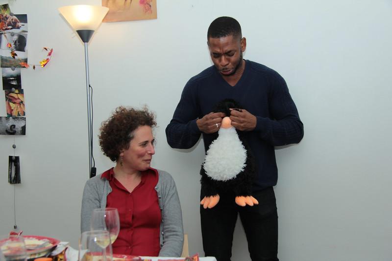Penguin is sad now