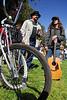 Biker cool guys at Earthday concert at GG Park