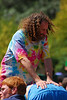 Hippie backrubs at Earthday concert at GG Park
