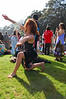Acid girls dances at Earthday concert at GG Park