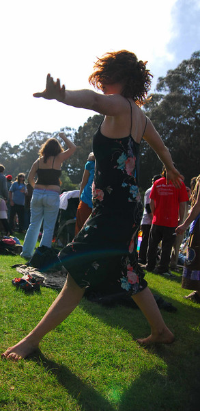 More acid girl Earthday concert at GG Park