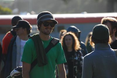 Shady Joe at Earthday concert at GG Park
