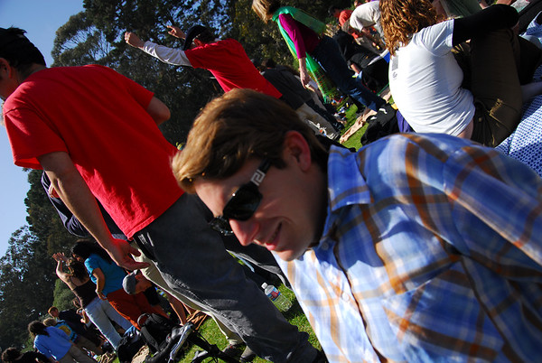 Zack Attack Earthday concert at GG Park