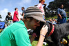 Joe kisses Tossa Earthday concert at GG Park
