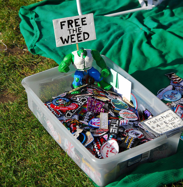 Free the weed at Earthday concert at GG Park