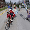 Record-Eagle/Keith King<br /> The 2011 Traverse City Earth Day Parade begins Saturday, April 30, 2011 outside Central Grade School.