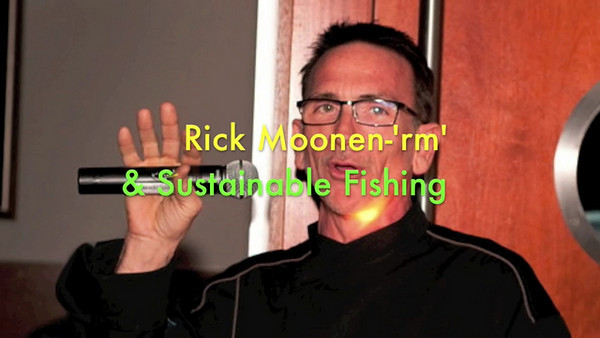 "WATCH THIS VIDEO   *  Rick Moonen - 'rm' in Las Vegas *   ""Sustainable Seafood - I thank you for that.""  Video by Kiki Kalor Editing by Kiki Kalor Stills by Mark Bowers  ***"