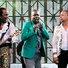 "Don Knight | The Herald Bulletin<br /> Earth Wind and Fire opened Hoosier Park's ""Sounds of Summer"" summer concert series on Friday."