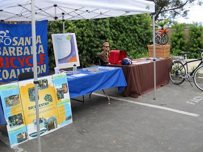 Biking booth