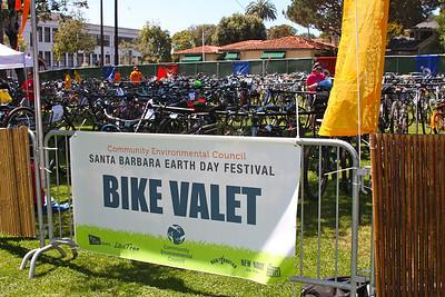 Bike valet around 2:00PM  http://www.youtube.com/watch?feature=player_embedded&v=mHrYdMaZYFM