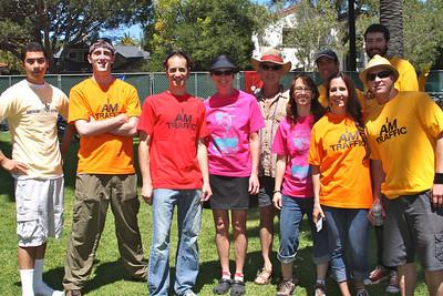 Volunteers for Bike Valet: they rock Bike World