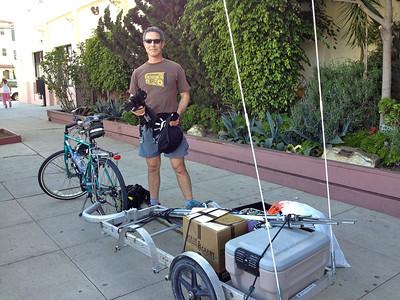 Matt and his trailer