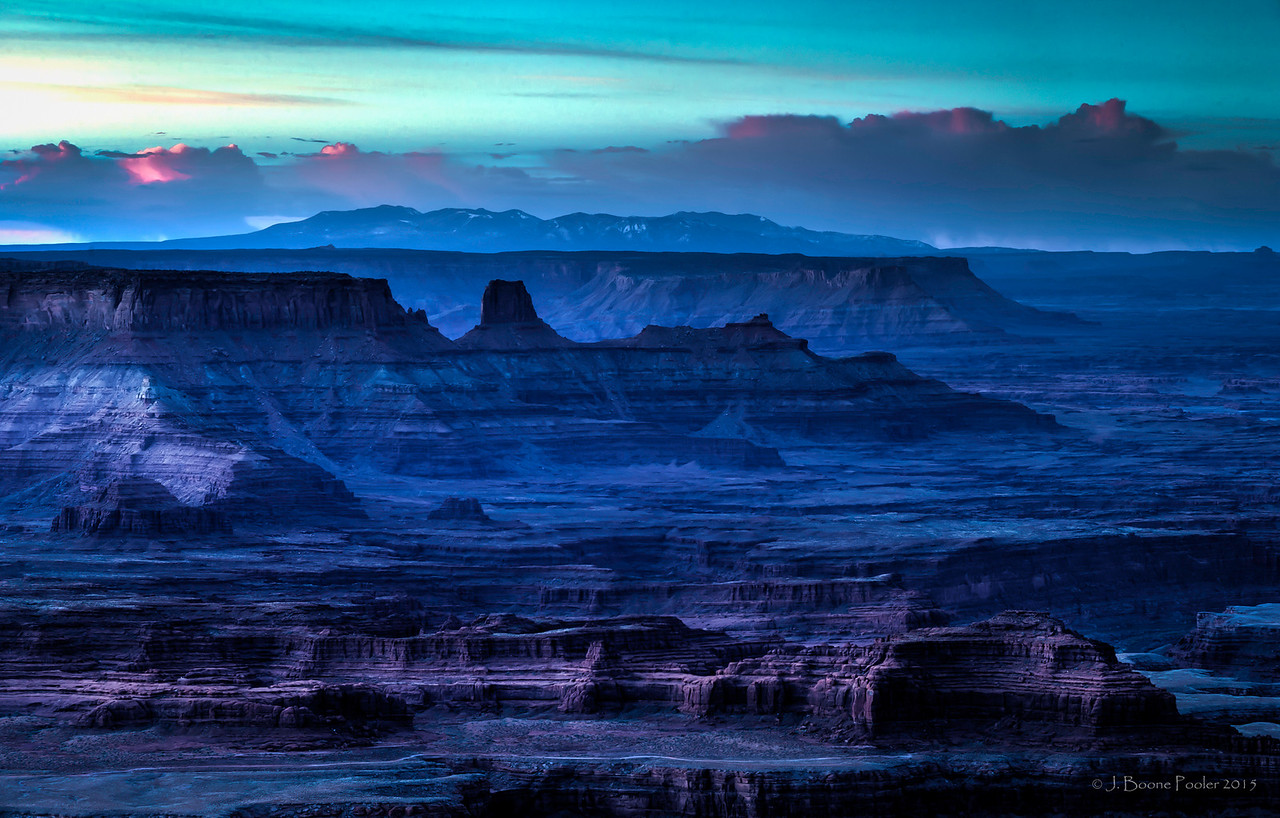 Morning Awakens Across the Canyon